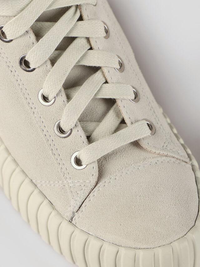 Diesel - S-EXPOSURE CLC W, Dirty White - Sneakers - Image 4