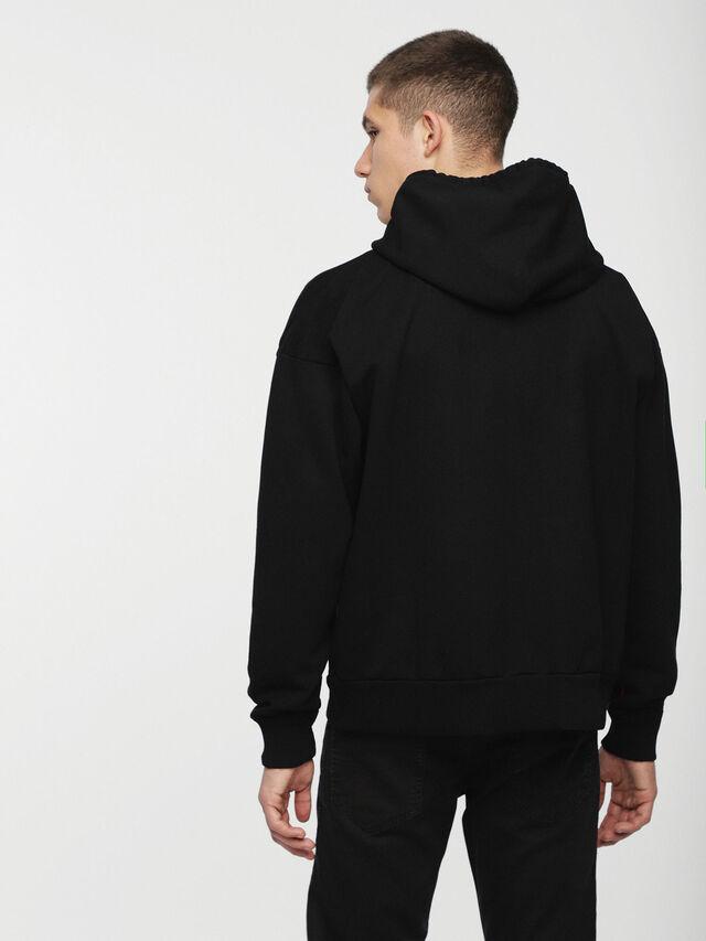 Diesel - DVL-SIZIP-CAPSULE, Black - Sweatshirts - Image 2