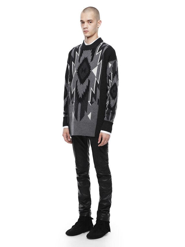 Diesel - KAVAJO, Black - Sweaters - Image 4