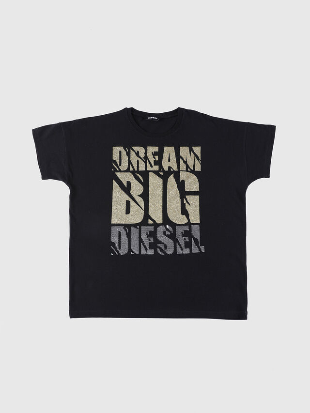 Diesel - TOMY, Black - T-shirts and Tops - Image 1