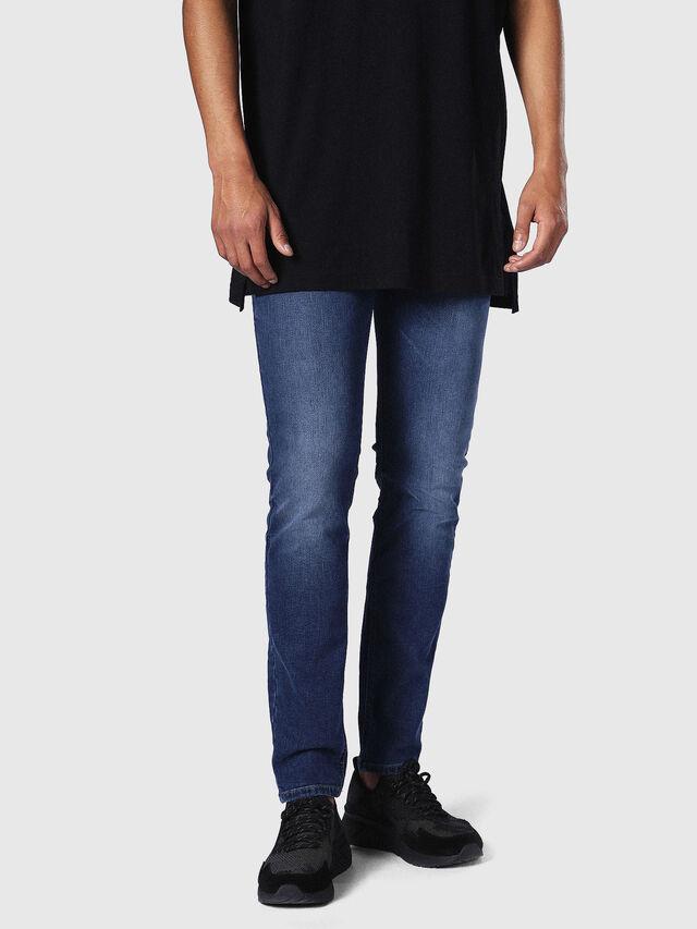 Diesel - Sleenker 084NW, Light Blue - Jeans - Image 3