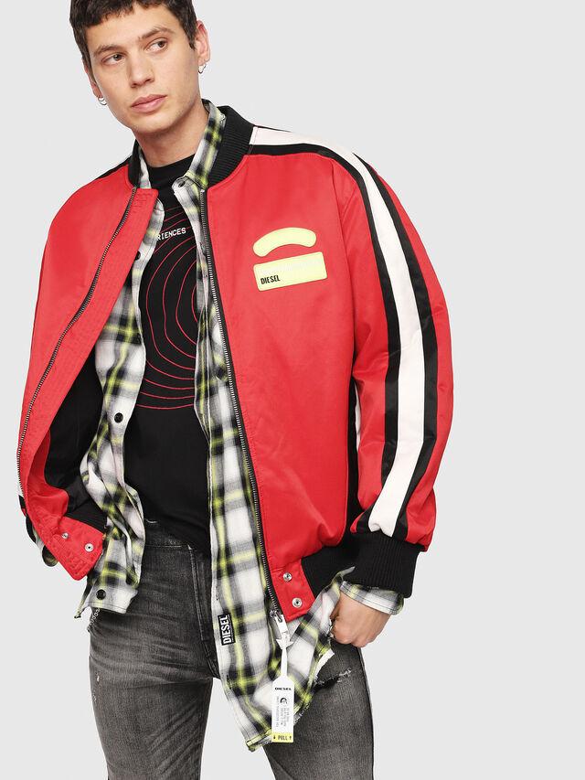Diesel - J-RYUU, Red - Jackets - Image 4