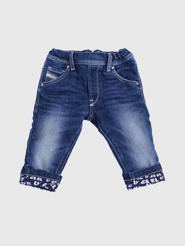 Diesel - KROOLEY-B-N F JOGGJEANS, Blue Jeans - Jeans - Image 1