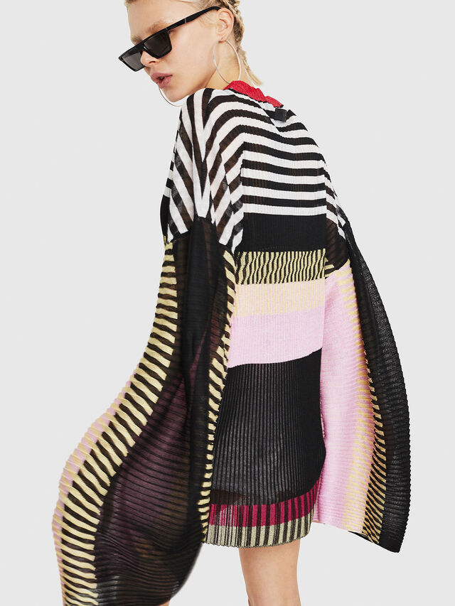 Diesel - M-PLEAT-A, Multicolor - Sweaters - Image 6
