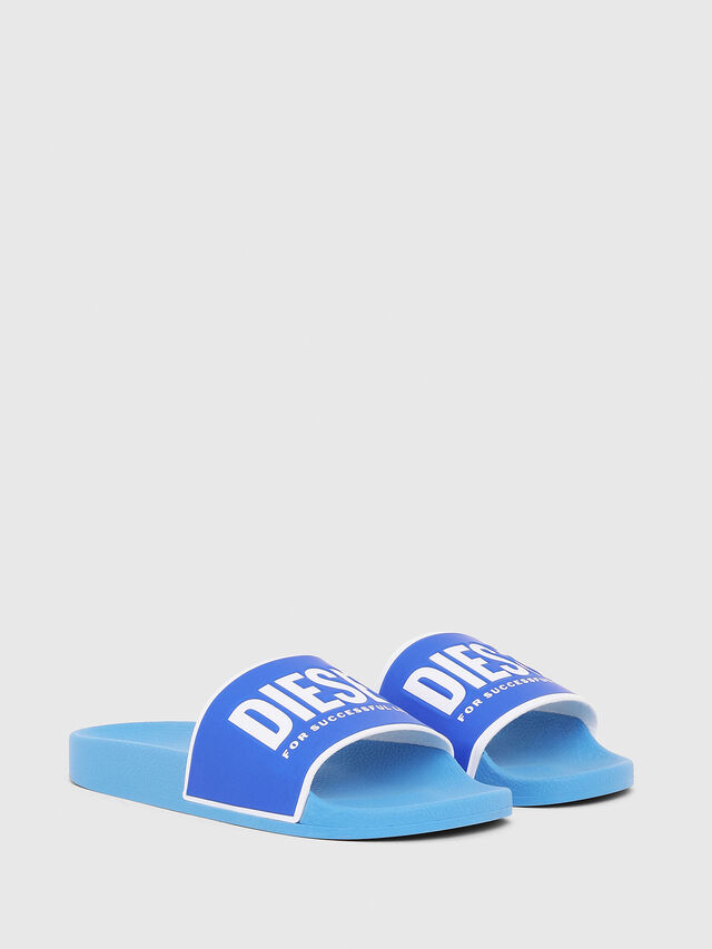 Diesel - SA-VALLA, Azure - Slippers - Image 2