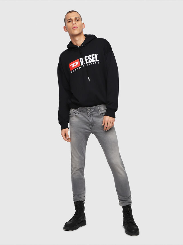 Diesel - Thommer C84HP, Light Grey - Jeans - Image 4