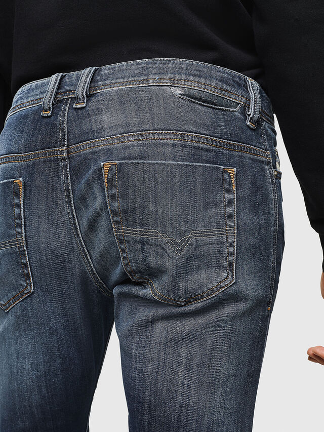Diesel - Safado 0885K, Bleu Foncé - Jeans - Image 4