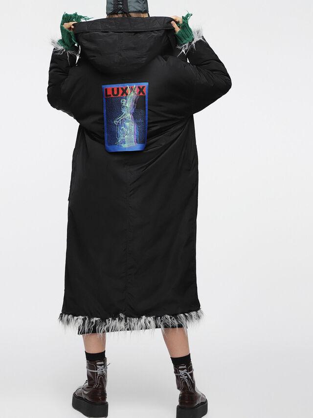 Diesel - L-MIL-A, Black/White - Winter Jackets - Image 4