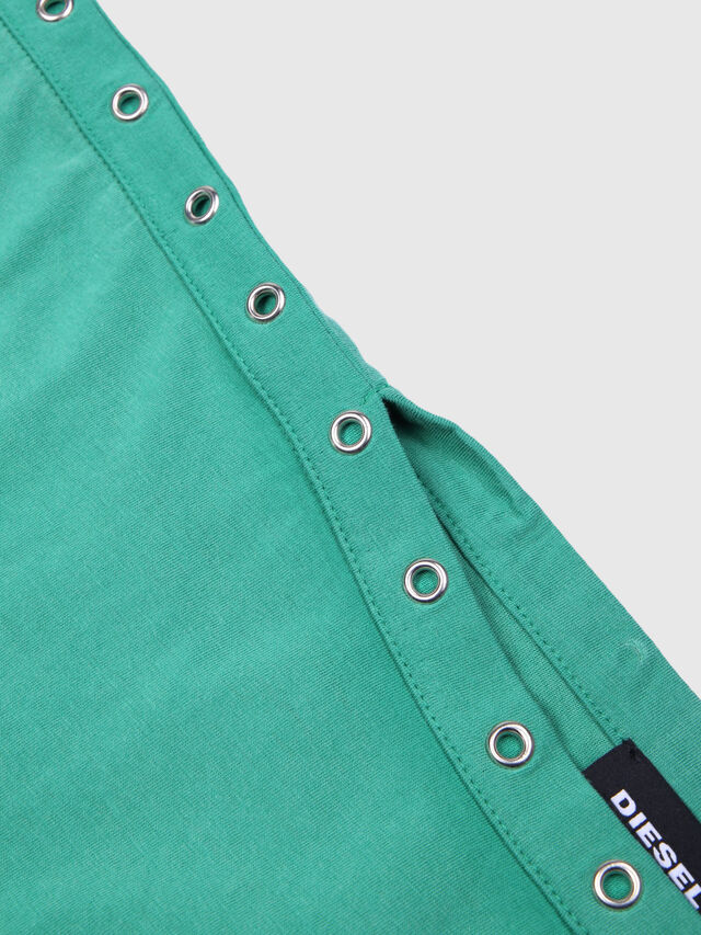 Diesel - TJLEOX, Water Green - T-shirts and Tops - Image 3