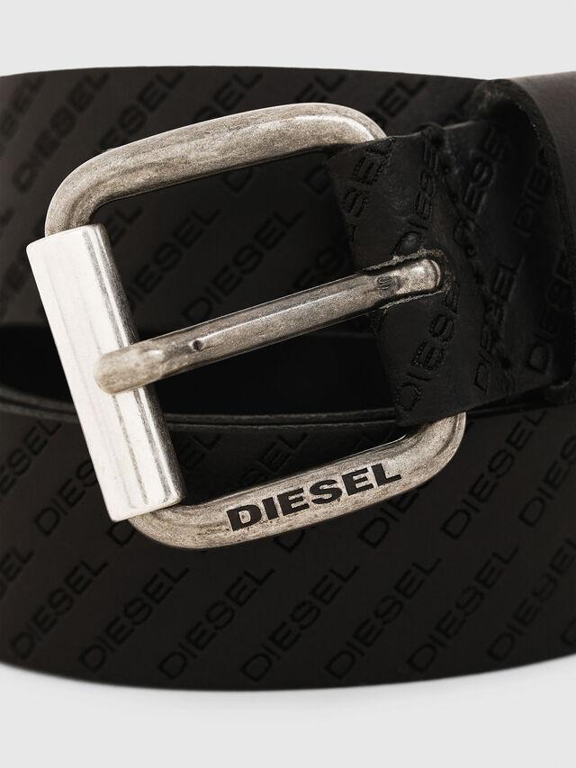 Diesel - B-SOLESINO, Black - Belts - Image 2
