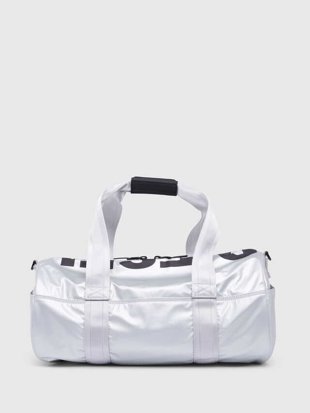 Diesel - F-BOLD DUFFLE, Silver - Travel Bags - Image 2