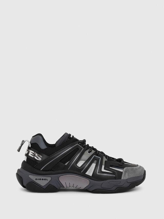 Diesel - S-KIPPER LOW TREK, Black - Sneakers - Image 1