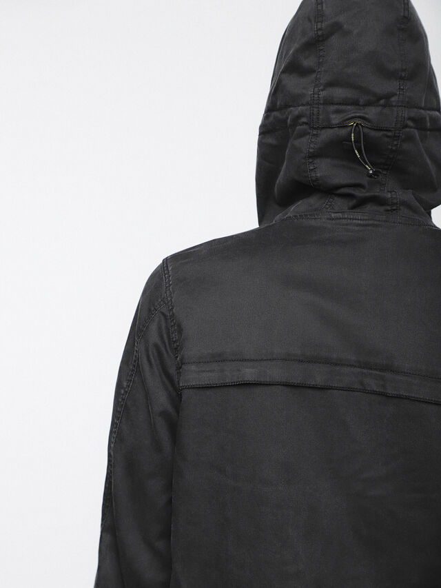 Diesel - JOQUE JOGGJEANS, Black/Dark Grey - Denim Jackets - Image 6