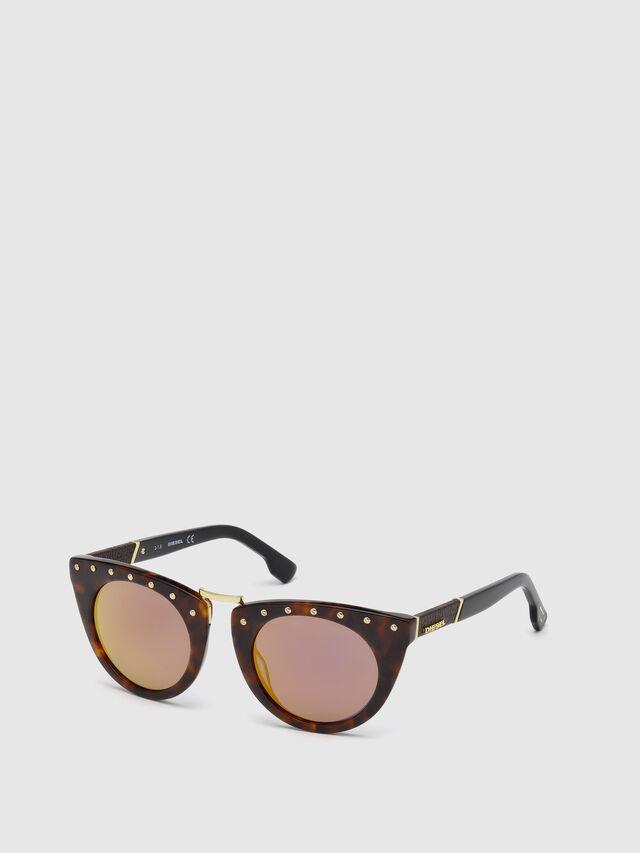 Diesel - DL0211, Brown - Sunglasses - Image 4