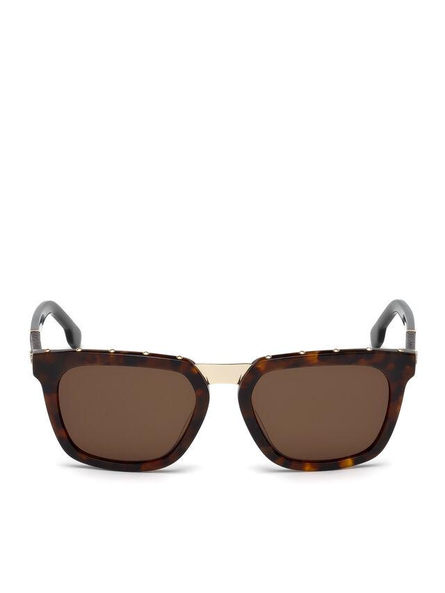Diesel - DL0212, Brown - Sunglasses - Image 1