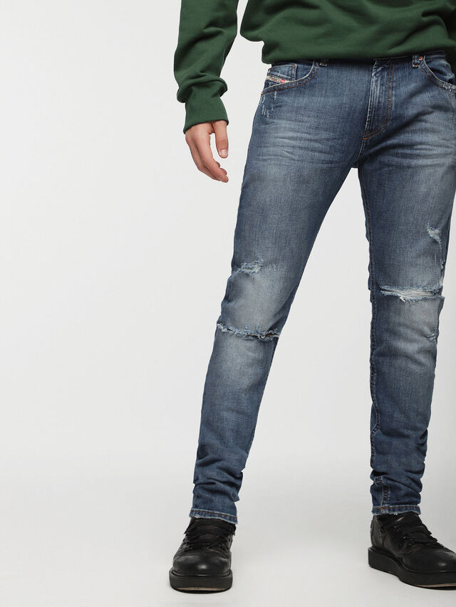 Diesel - Thommer CN011, Light Blue - Jeans - Image 1
