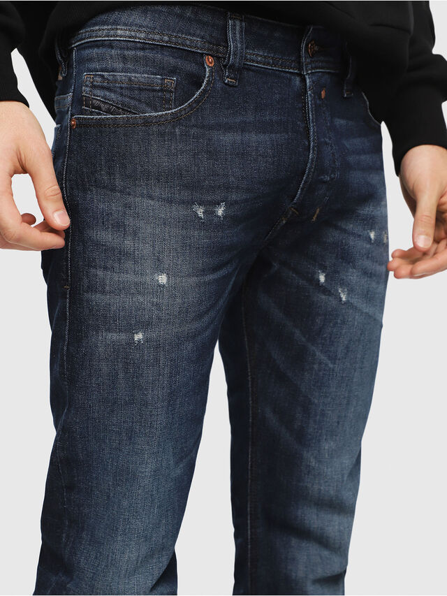 Diesel - Safado C87AN, Medium Blue - Jeans - Image 3