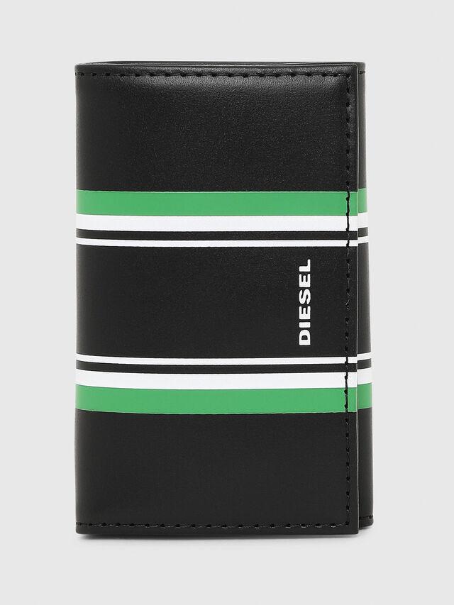 Diesel - KEYCASE O, Black/Green - Bijoux and Gadgets - Image 1