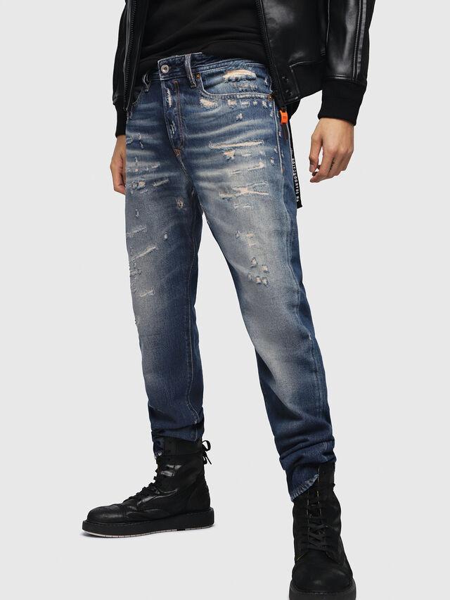 Diesel - Buster 088AQ, Medium Blue - Jeans - Image 1