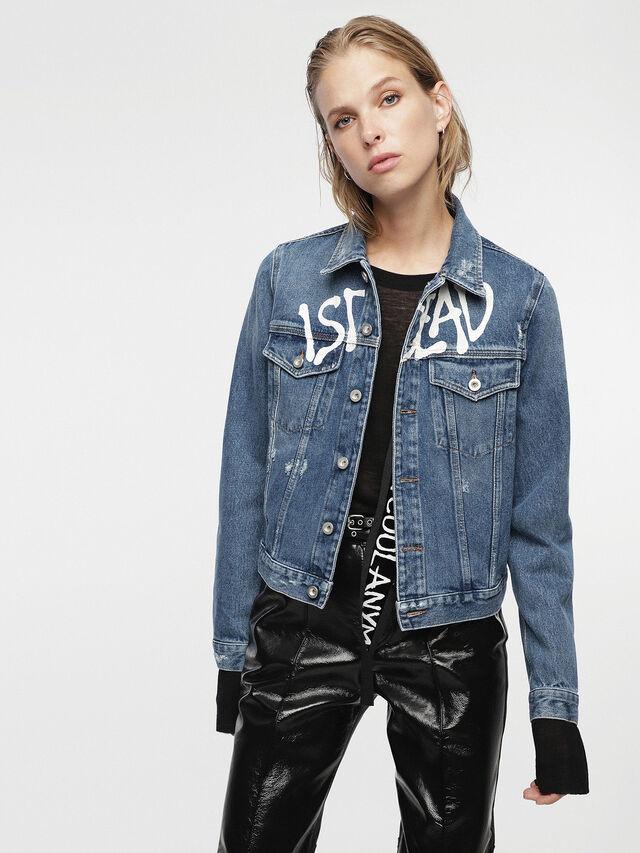 Diesel - HC-DE-VELVET, Blue Jeans - Denim Jackets - Image 5
