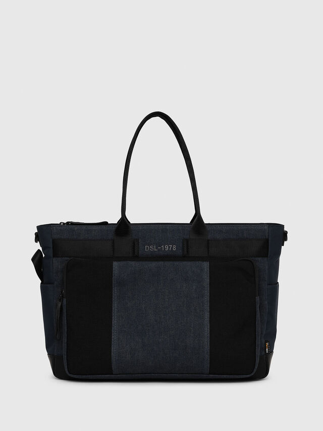 Diesel - BAGOTE, Dark Blue - Shopping and Shoulder Bags - Image 1