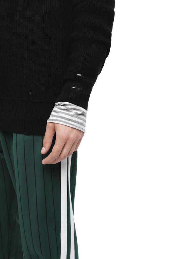 Diesel - KABUCO, Black - Sweaters - Image 6