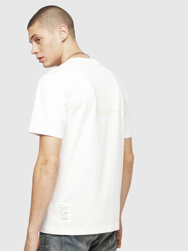 Diesel - T-JUST-YO, White - T-Shirts - Image 2