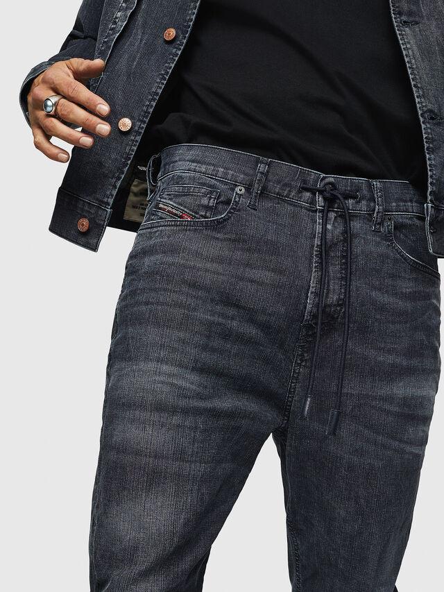 Diesel - D-Vider JoggJeans 0090H, Dark Blue - Jeans - Image 3