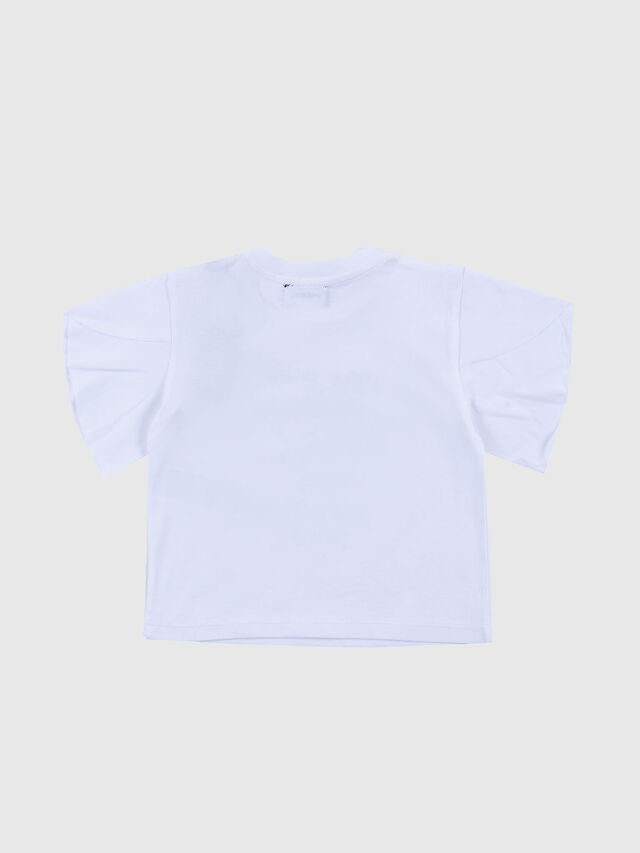 Diesel - TJPETAB W, White - T-shirts and Tops - Image 2