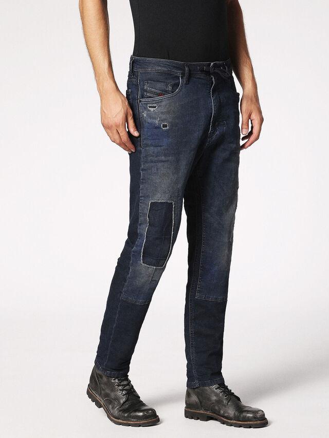 Diesel - Narrot JoggJeans 0685M, Dark Blue - Jeans - Image 6