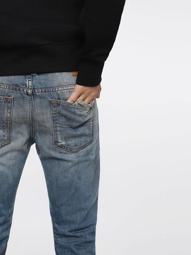 Diesel - Buster 084ZI, Medium Blue - Jeans - Image 5