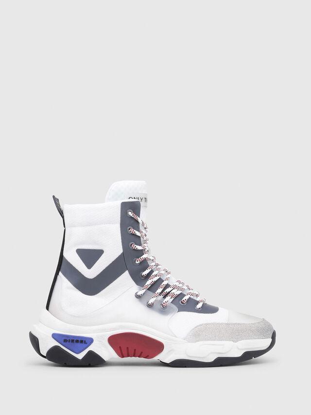 Diesel - S-KIPPER MID LACE, White - Sneakers - Image 1