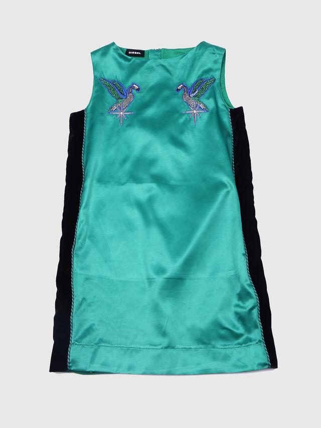 Diesel - DJITEA, Green/Black - Dresses - Image 1