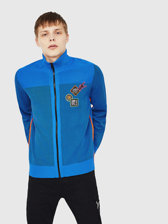 Diesel - K-TRAFFIC, Brilliant Blue - Sweaters - Image 1