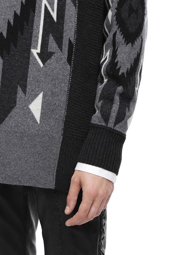 Diesel - KAVAJO, Black - Sweaters - Image 6