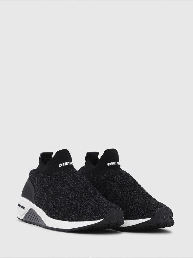 Diesel - S-KB ATHL SOCK W, Black - Sneakers - Image 2
