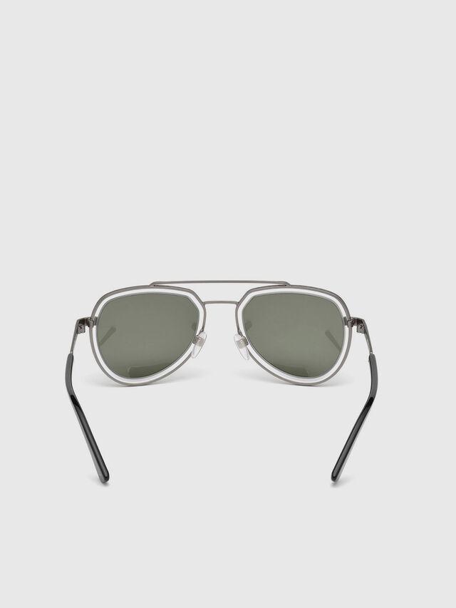 Diesel - DL0266, Black/Grey - Sunglasses - Image 4