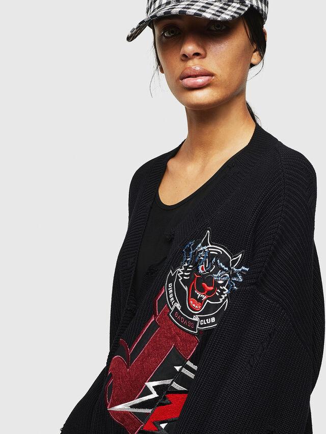 Diesel - M-JENNY, Black - Sweaters - Image 3