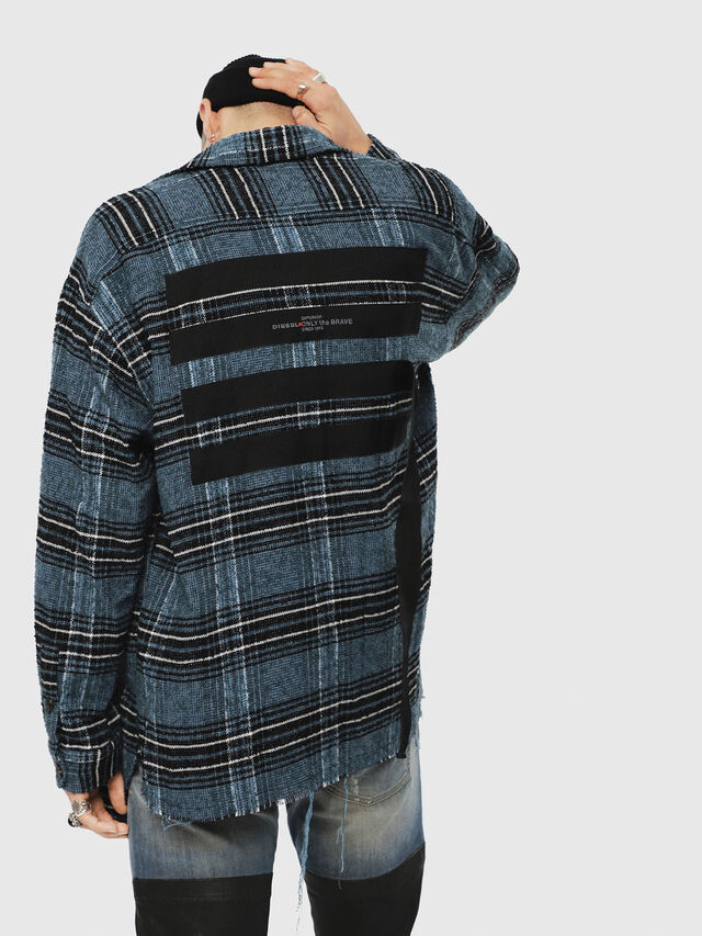 Diesel - S-TARO, Blue/Black - Shirts - Image 2