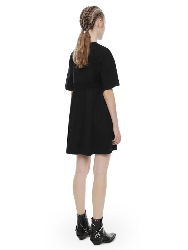 Diesel - DIPLIX, Black - Dresses - Image 2
