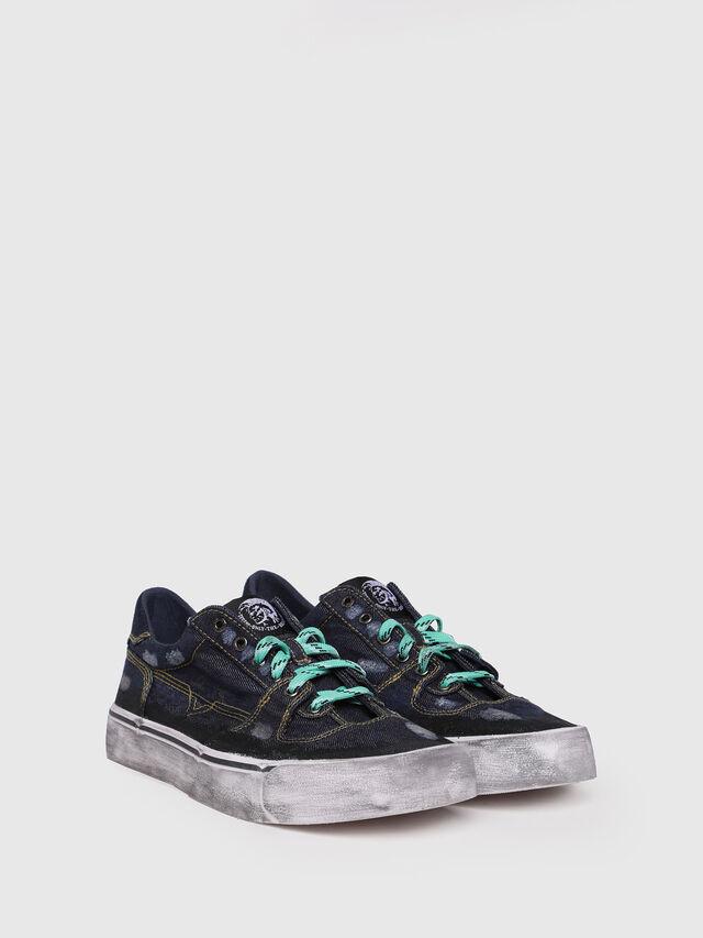 Diesel - S-FLIP LOW, Dark Blue - Sneakers - Image 2