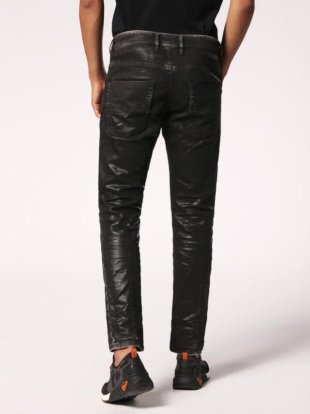 Diesel - Krooley JoggJeans 084HH, Black/Dark Grey - Jeans - Image 2