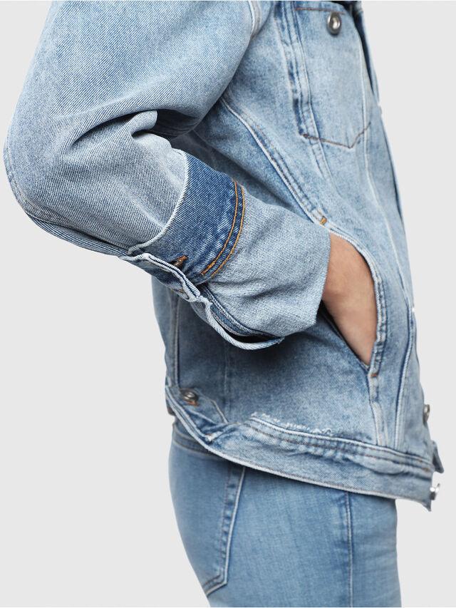 Diesel - DE-NALINI, Blue Jeans - Denim Jackets - Image 3