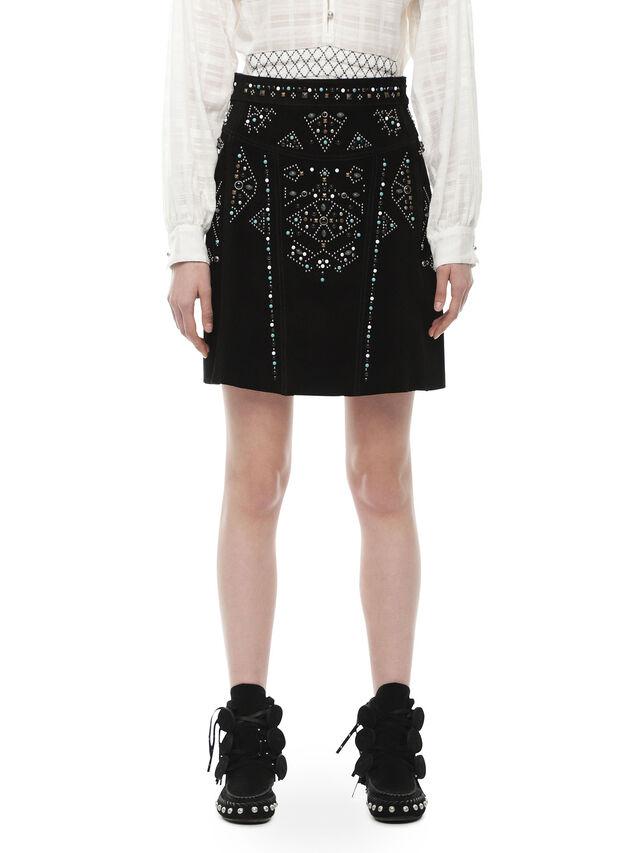Diesel - OBORC, 900 - Leather skirts - Image 1