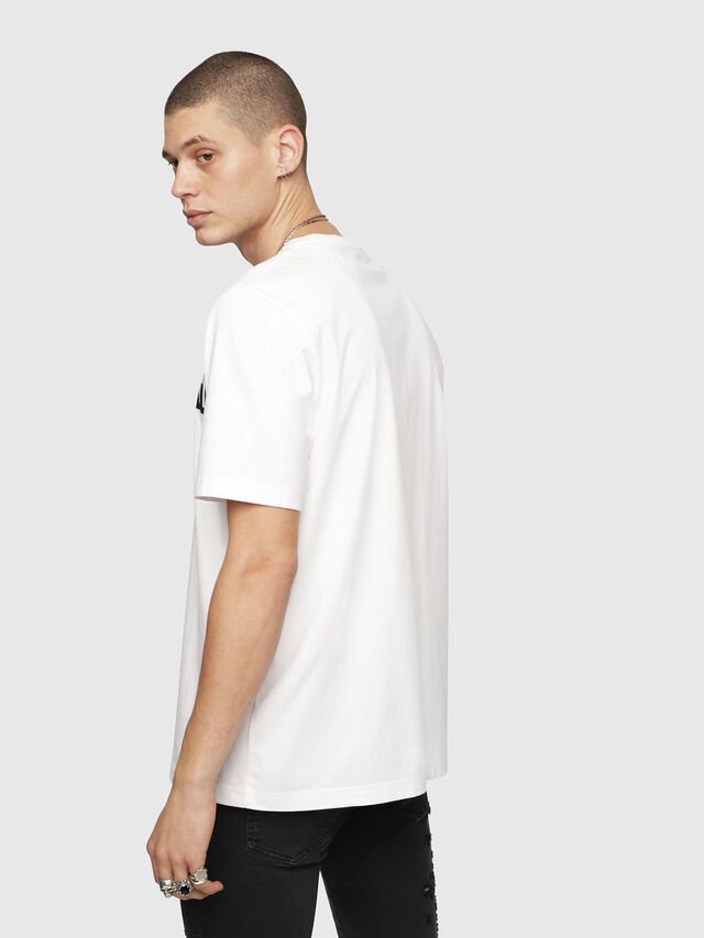 Diesel - T-JUST-YZ, White - T-Shirts - Image 2
