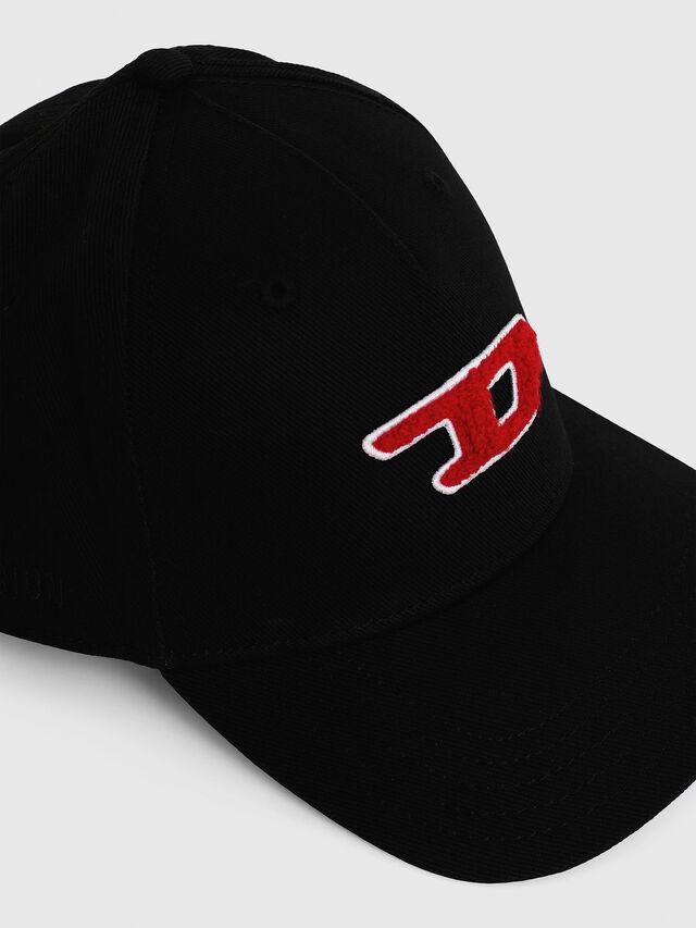 Diesel - C-DIGRA, Black - Caps - Image 3