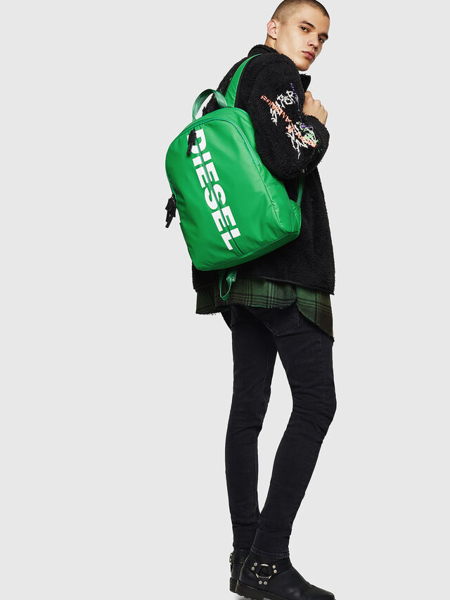 Diesel - BOLD BACK II, Green - Backpacks - Image 7