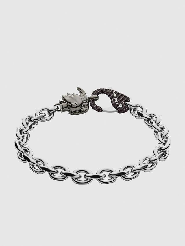 Diesel - DX1146, Silver - Bracelets - Image 1
