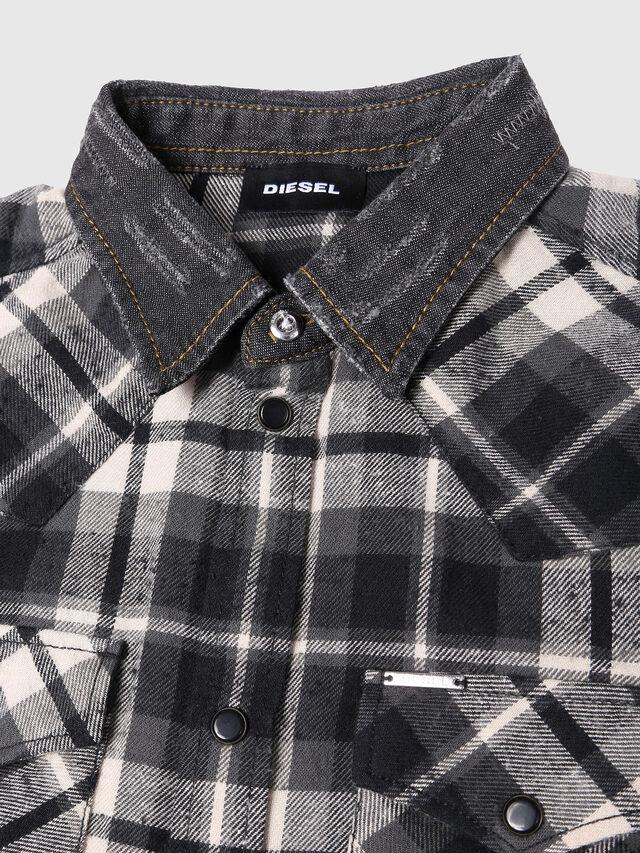 Diesel - COXXY, Black/White - Shirts - Image 3
