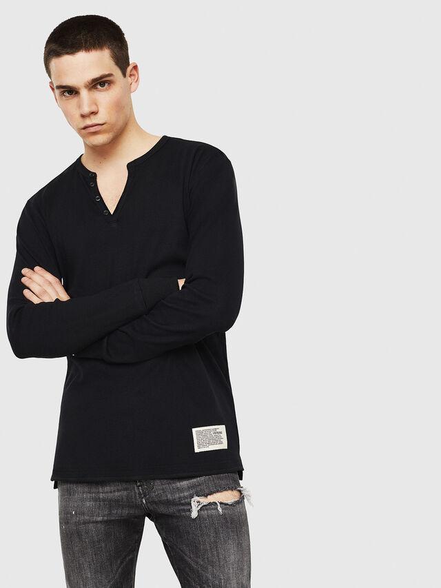 Diesel - T-YOICHIROKI, Black - T-Shirts - Image 1